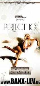 Perfect 10 BANX