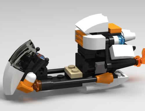 Galaxy Hover Bike
