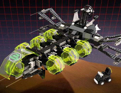 Blacktron 2 – Aerial Fleet Intruder Force – Neues Raumschiff für die Blacktron 2 Flotte