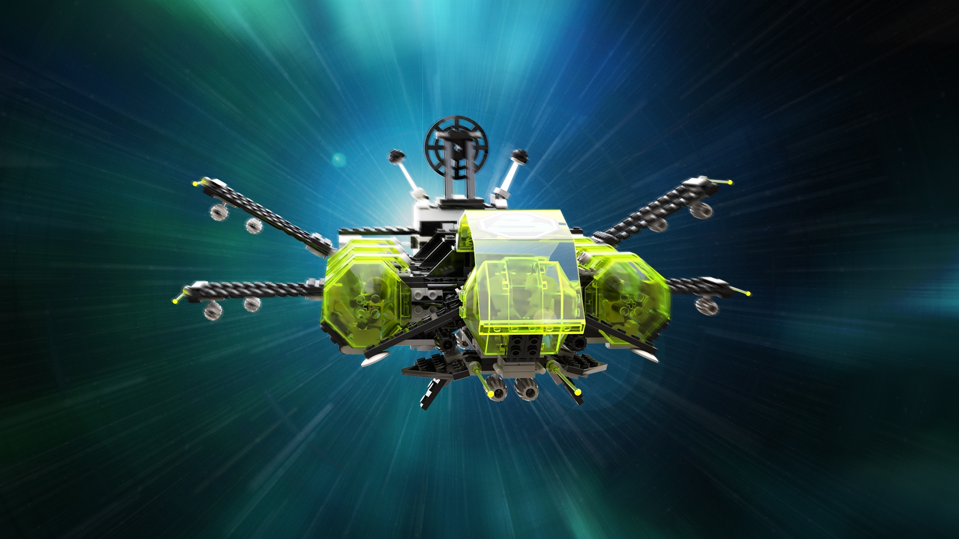 LEGO Blacktron 2 – AFIF Hyperspace jump